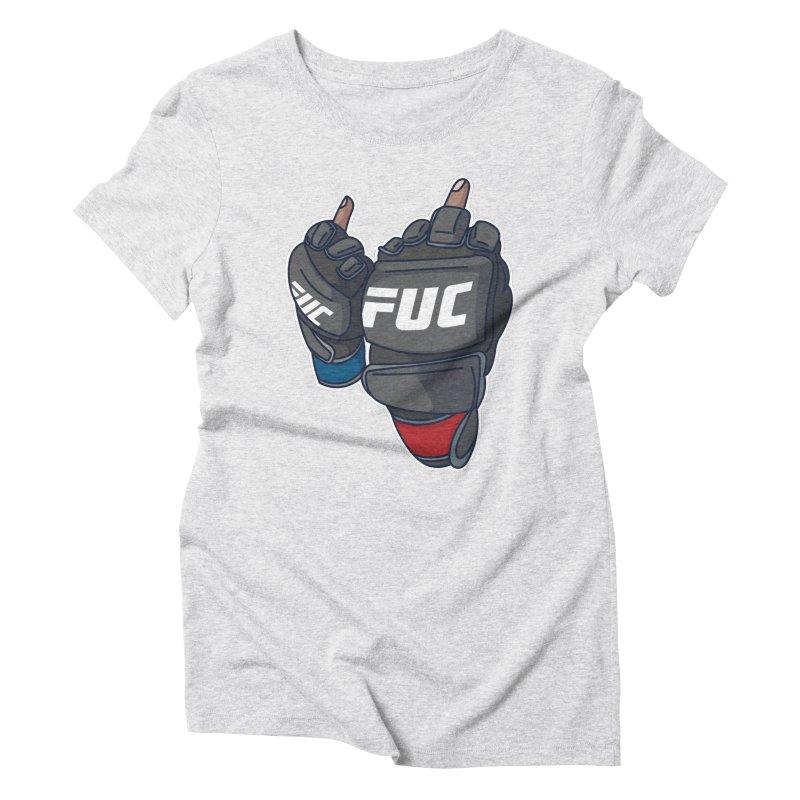 2 Big Birds Women's Triblend T-Shirt by Hands Up Fight Club