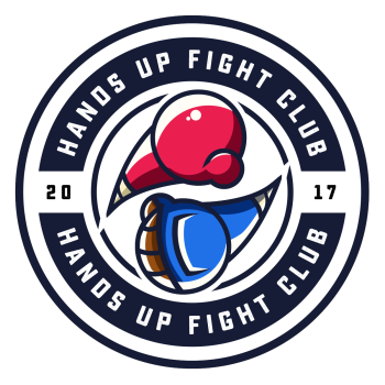Hands Up Fight Club Logo