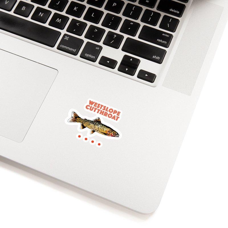 Westslope Cutthroat Accessories Sticker by Hanlen_Art  Artist Shop