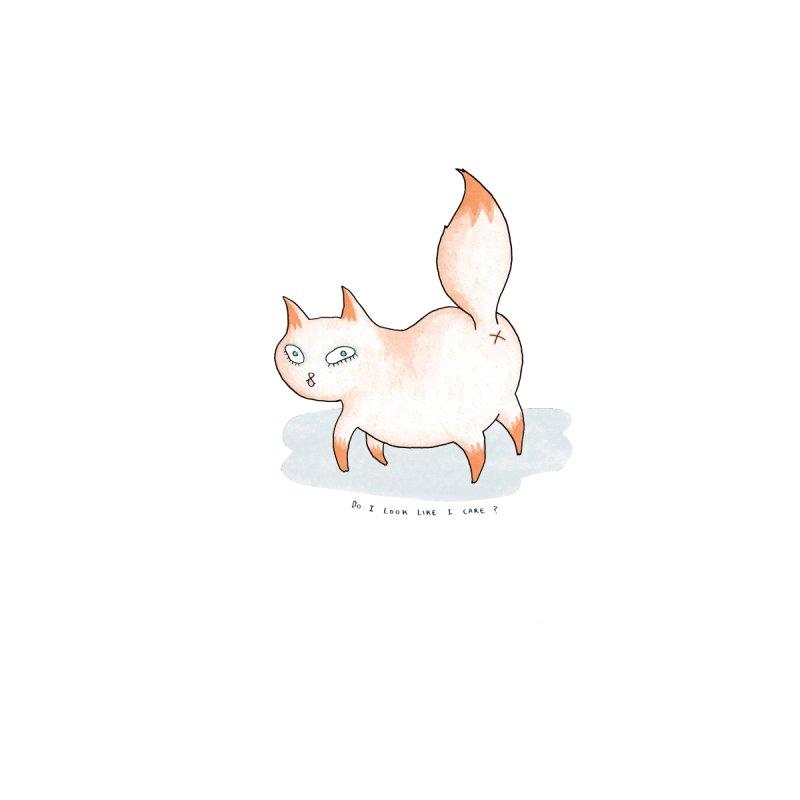 Do I look like i care? (Cat butt) by Hannah Draws