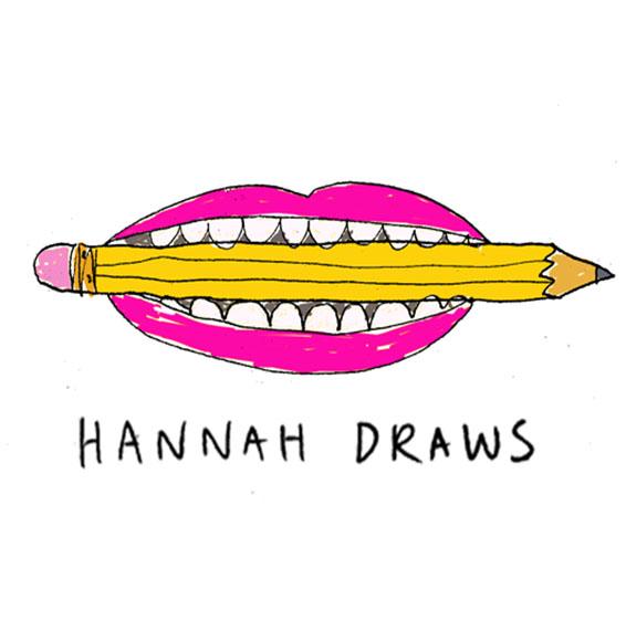 Hannah Draws Logo