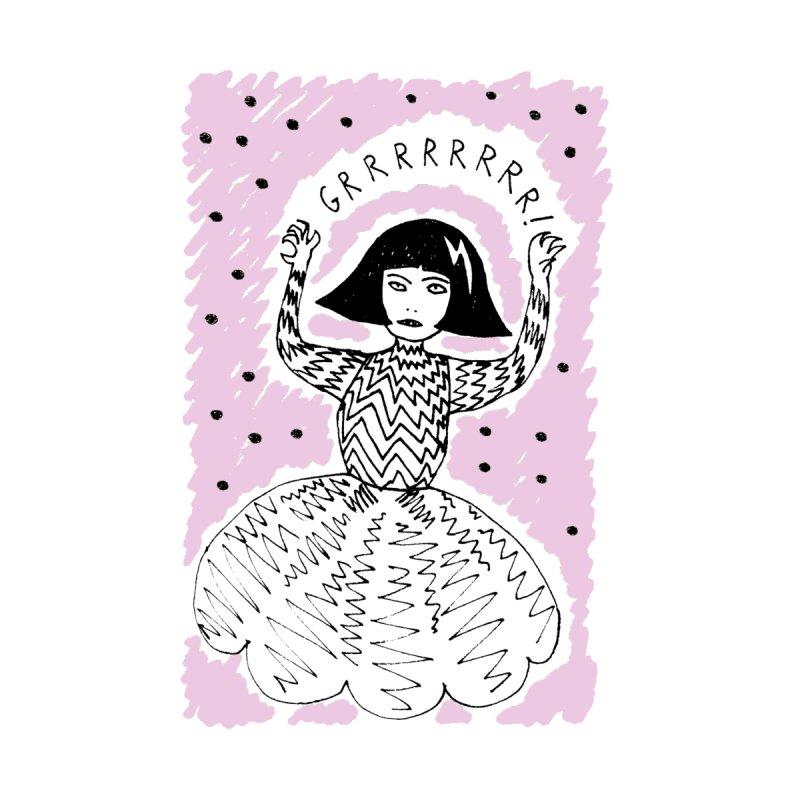 GRRR Girl - Pink by Hannah Draws