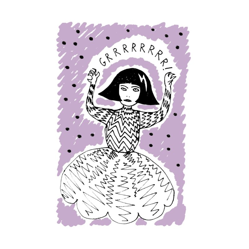 GRRR Girl - Lilac by Hannah Draws