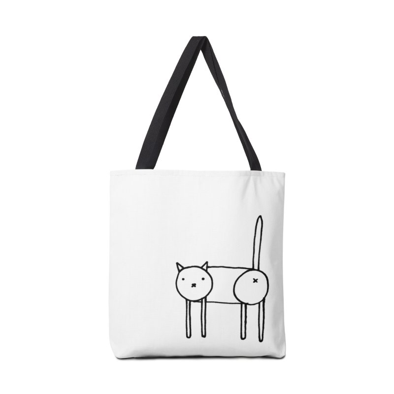 Cat doodle (butt) Accessories Tote Bag Bag by Hannah Draws