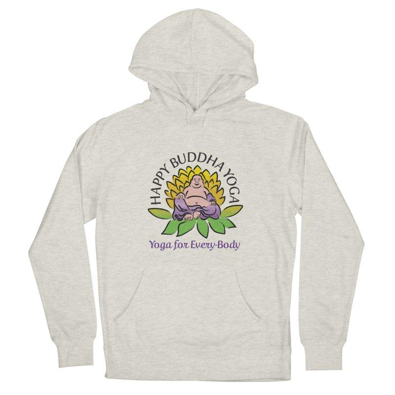 Happy Buddha Yoga Color Logo Women's Pullover Hoody by HappyBuddhaYoga's Artist Shop