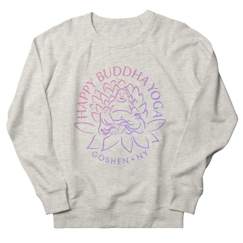Happy Buddha Yoga Pink/Purple Women's Sweatshirt by HappyBuddhaYoga's Artist Shop