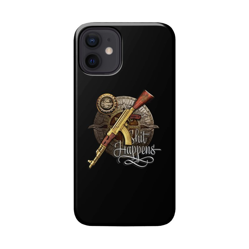 Shit Happens Accessories Phone Case by HappyRonin's Artist Shop
