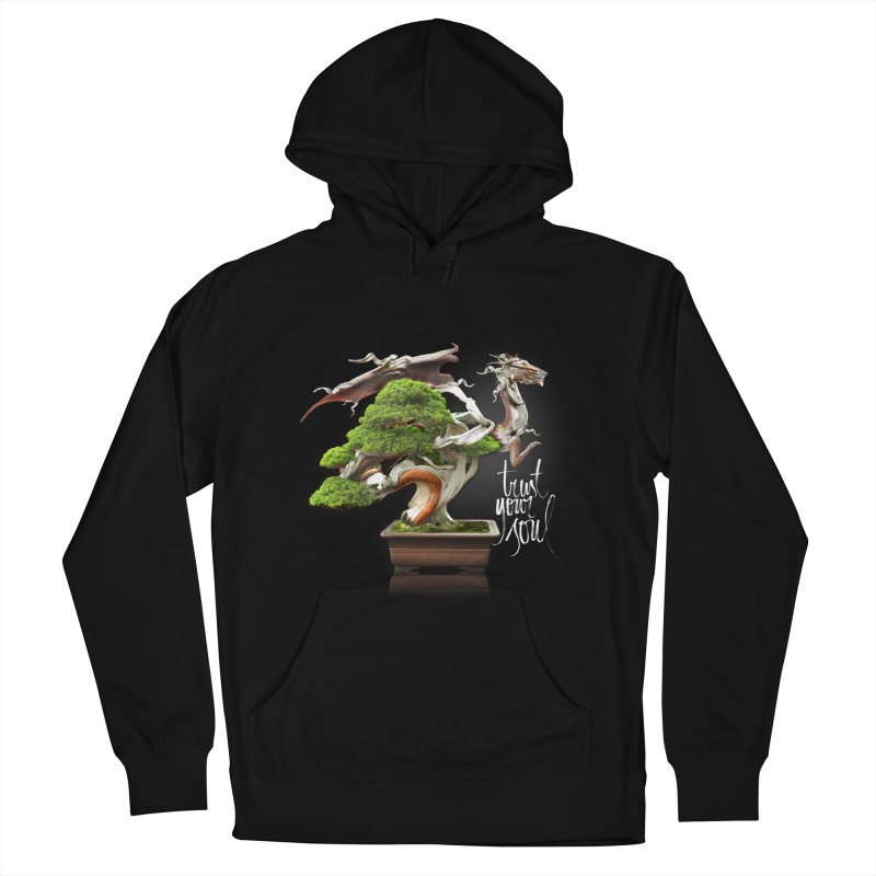 Bonsai Dragon Men's Pullover Hoody by HappyRonin's Artist Shop