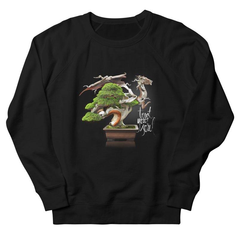 Bonsai Dragon Men's Sweatshirt by HappyRonin's Artist Shop