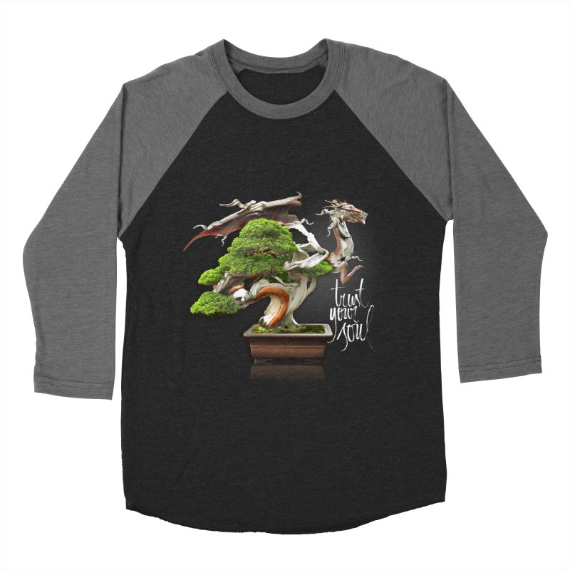 Bonsai Dragon Women's Longsleeve T-Shirt by HappyRonin's Artist Shop
