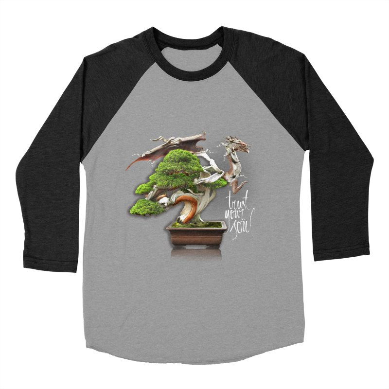 Bonsai Dragon Men's Longsleeve T-Shirt by HappyRonin's Artist Shop