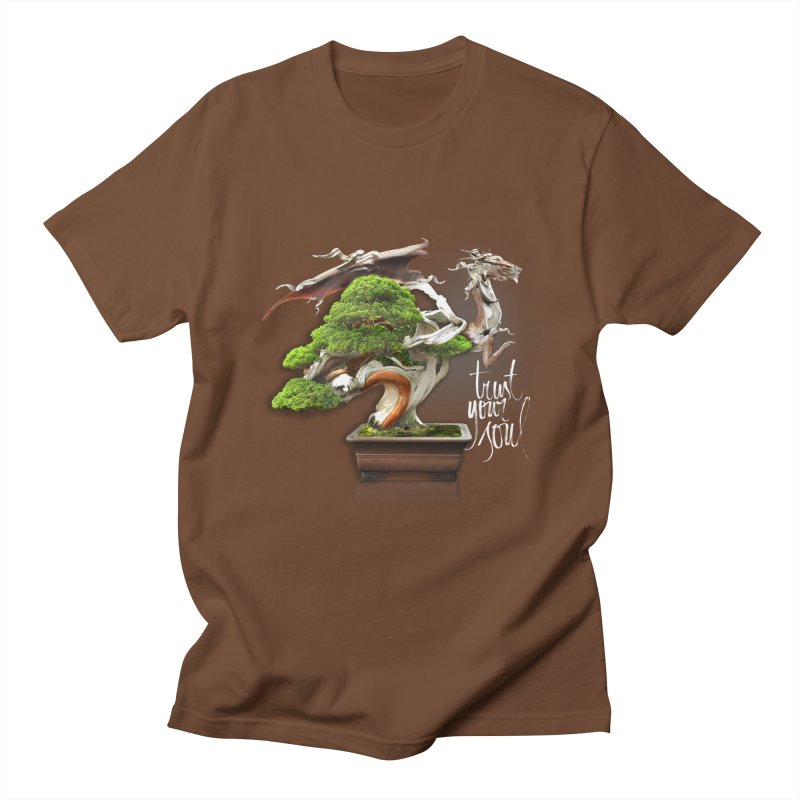 Bonsai Dragon Men's T-Shirt by HappyRonin's Artist Shop
