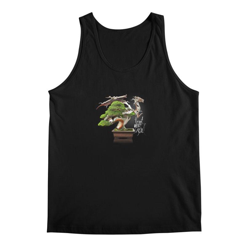 Bonsai Dragon Men's Tank by HappyRonin's Artist Shop