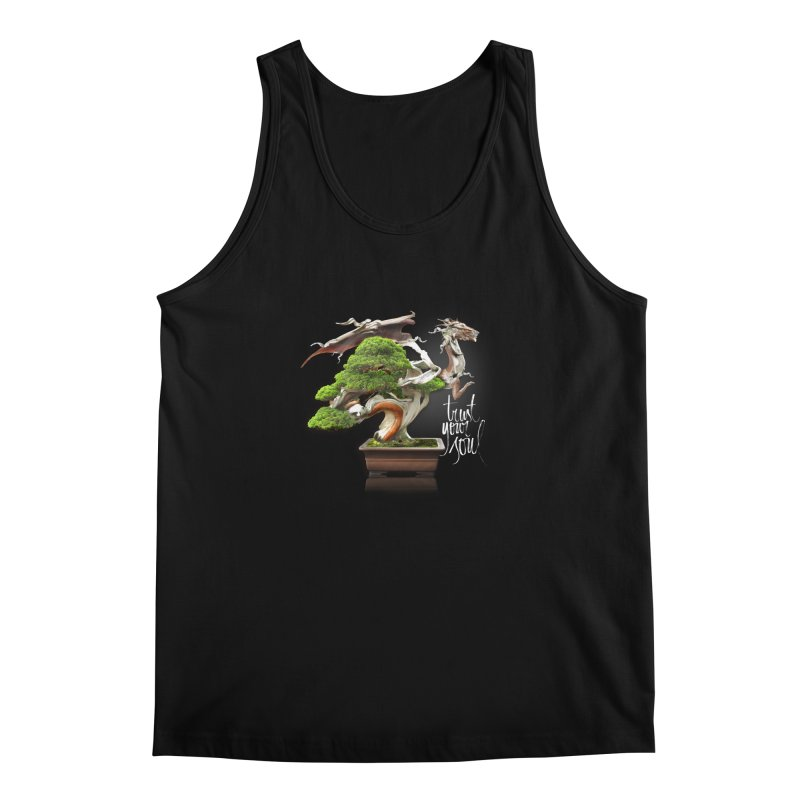 Bonsai Dragon Men's Tank by HappyRonin's Artist Shop