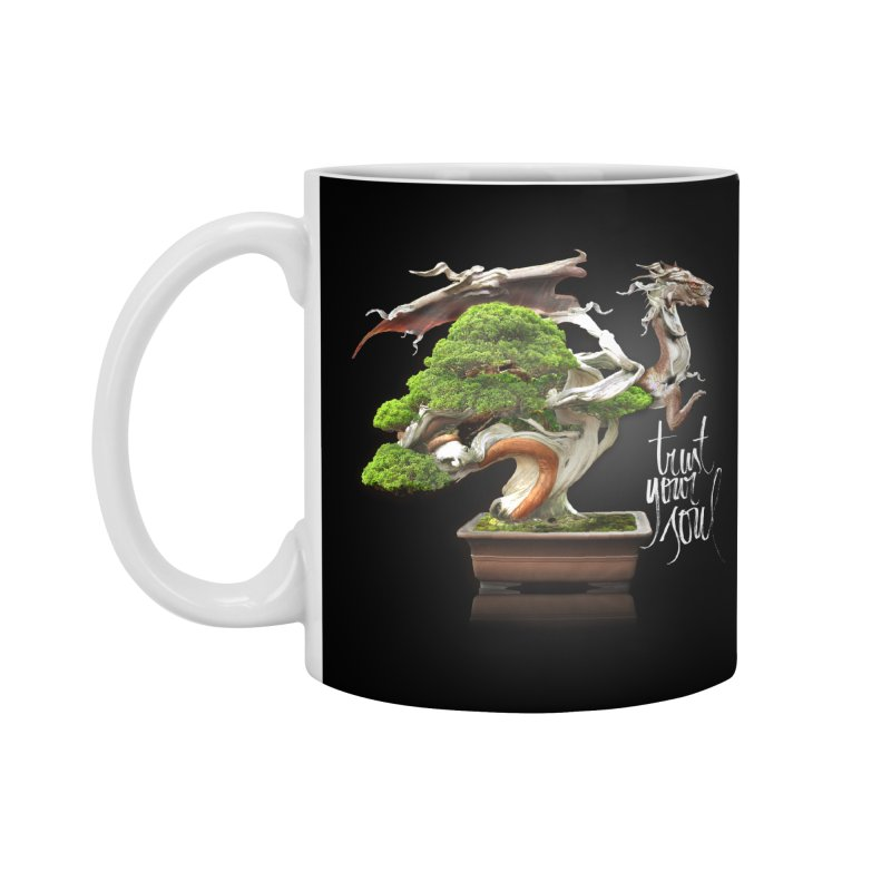 Bonsai Dragon Accessories Mug by HappyRonin's Artist Shop