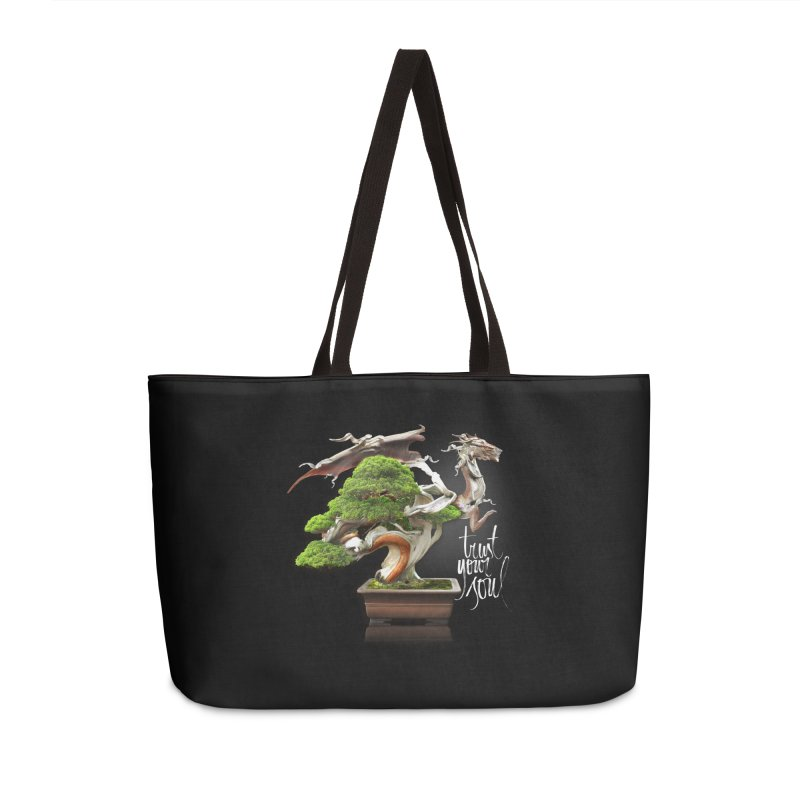 Bonsai Dragon Accessories Weekender Bag Bag by HappyRonin's Artist Shop