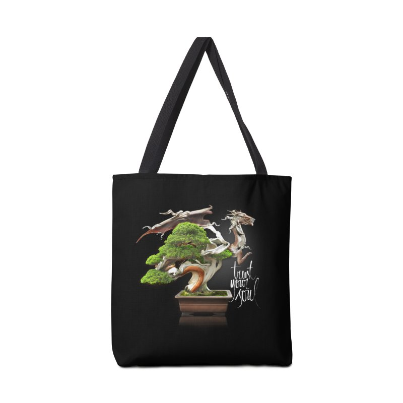 Bonsai Dragon Accessories Bag by HappyRonin's Artist Shop