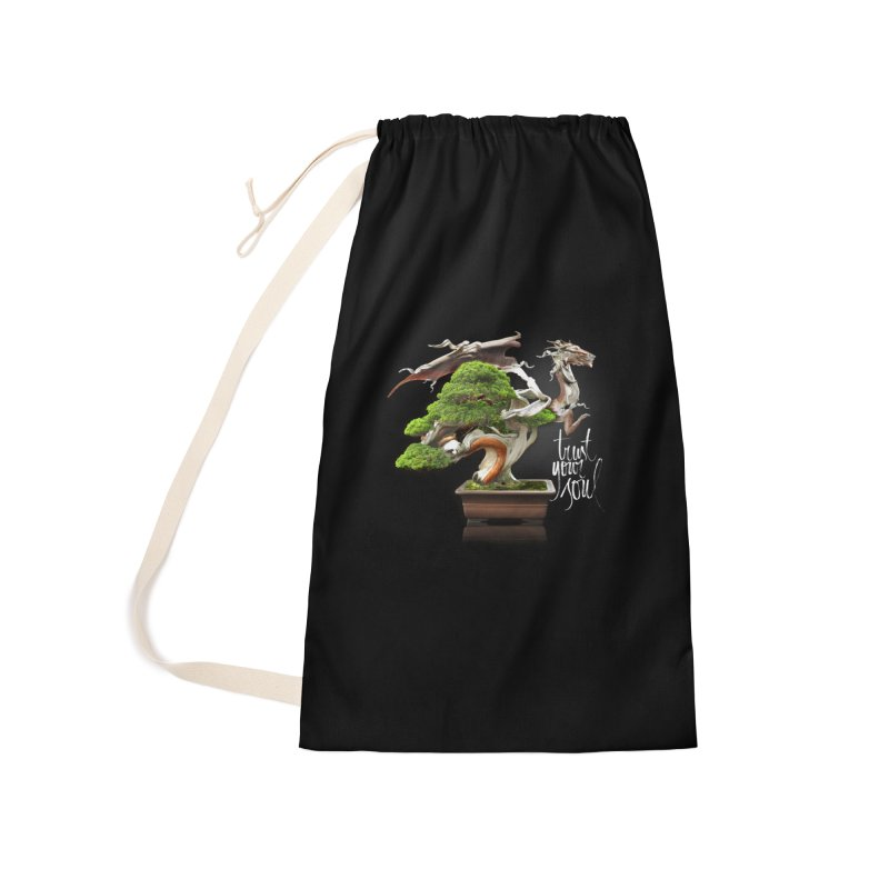 Bonsai Dragon Accessories Laundry Bag Bag by HappyRonin's Artist Shop