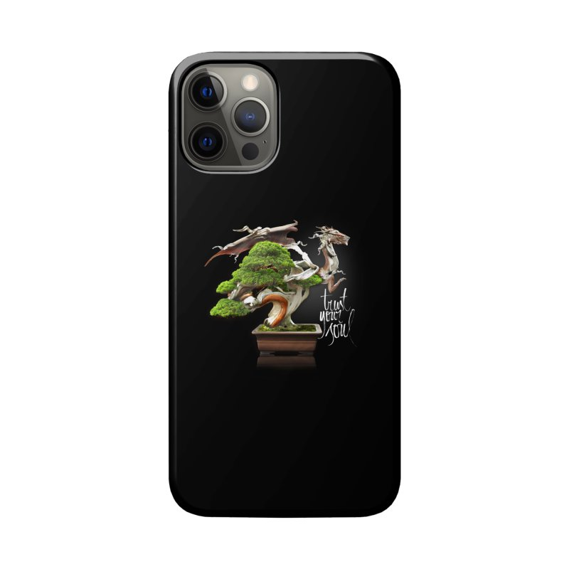 Bonsai Dragon Accessories Phone Case by HappyRonin's Artist Shop