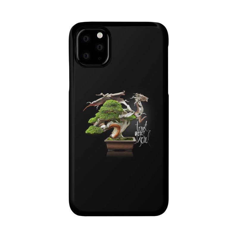 Bonsai Dragon Accessories Phone Case by HappyRonin's Artist Shop