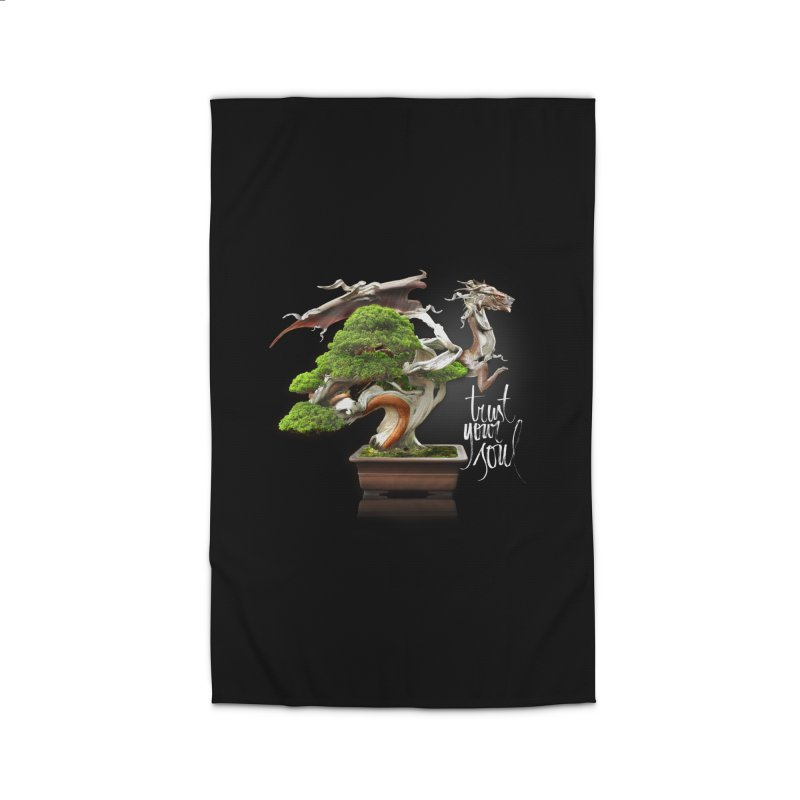 Bonsai Dragon Home Rug by HappyRonin's Artist Shop