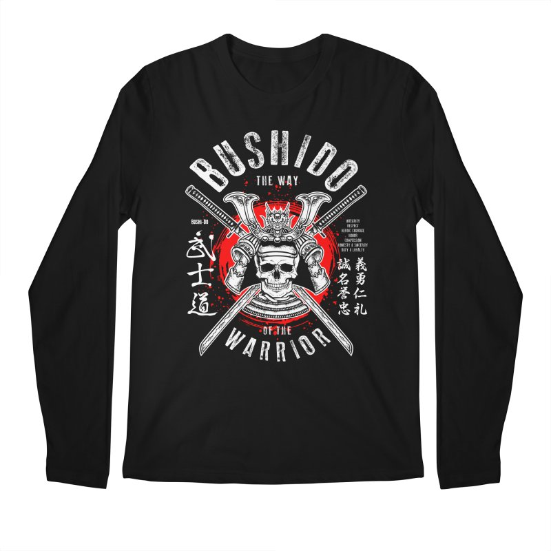 Bushido 1 Men's Longsleeve T-Shirt by HappyRonin's Artist Shop