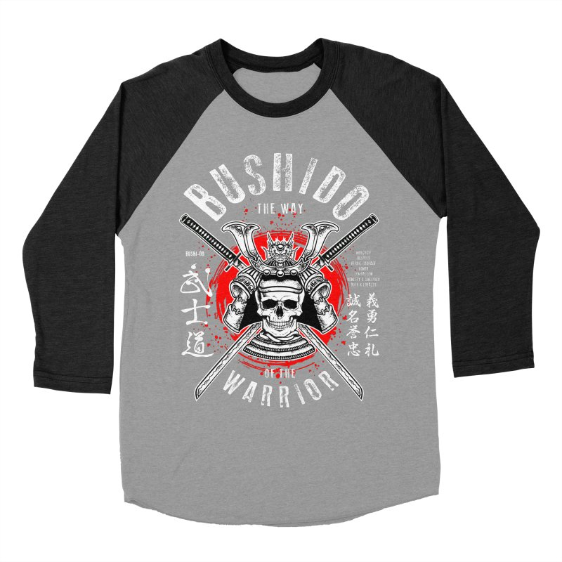 Bushido 1 Women's Baseball Triblend Longsleeve T-Shirt by HappyRonin's Artist Shop