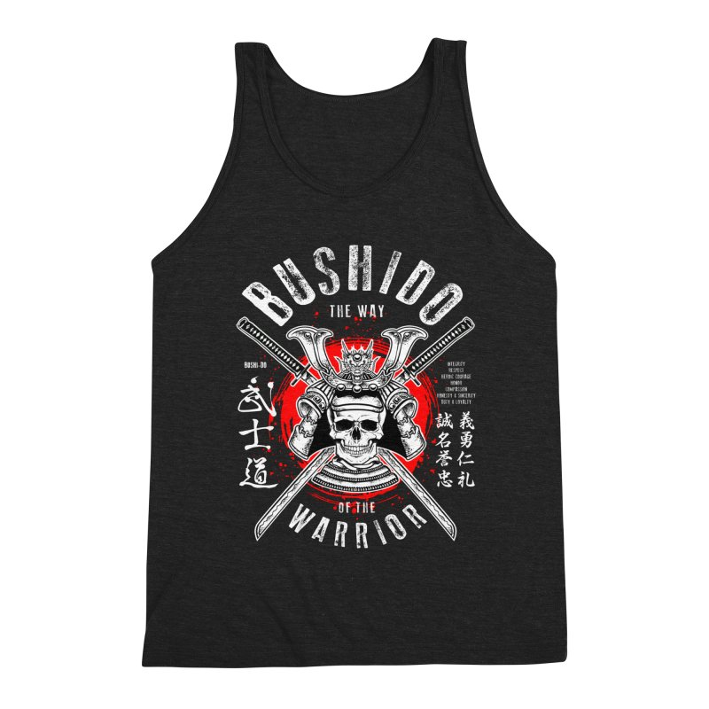 Bushido 1 Men's Tank by HappyRonin's Artist Shop
