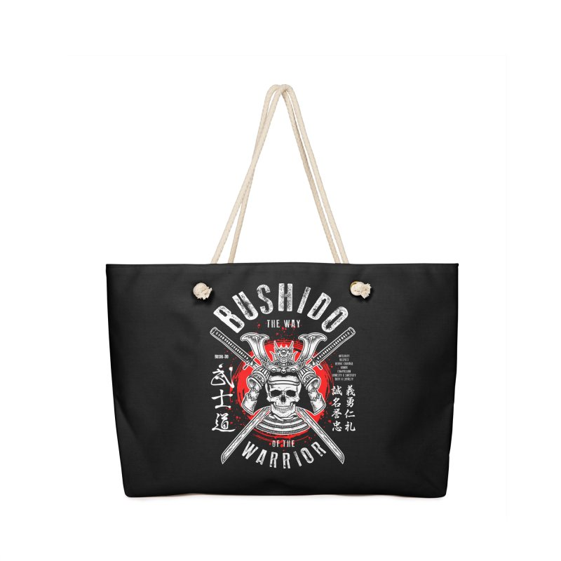Bushido 1 Accessories Bag by HappyRonin's Artist Shop