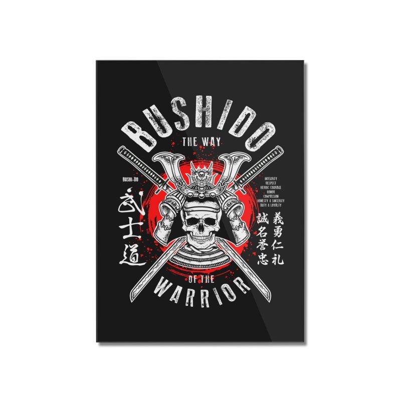 Bushido 1 Home Mounted Acrylic Print by HappyRonin's Artist Shop