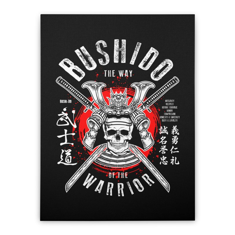 Bushido 1 Home Stretched Canvas by HappyRonin's Artist Shop
