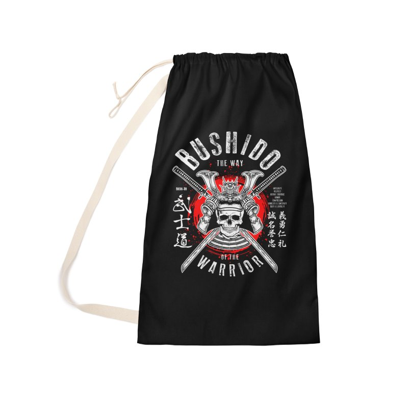Bushido 1 Accessories Laundry Bag Bag by HappyRonin's Artist Shop