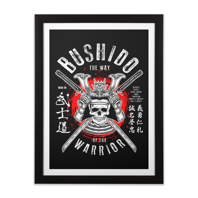Bushido 1 Home Framed Fine Art Print by HappyRonin's Artist Shop