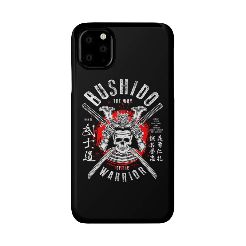Bushido 1 Accessories Phone Case by HappyRonin's Artist Shop