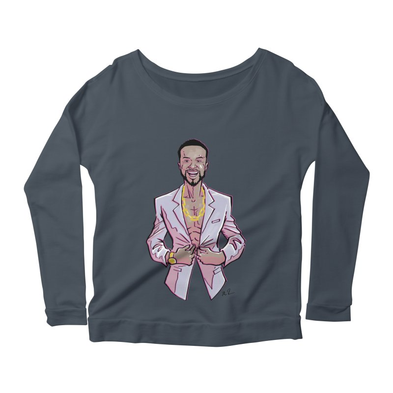 SecondFunniestComedianinTheWorld Women's Scoop Neck Longsleeve T-Shirt by HarlemRiverYachtClub's Artist Shop