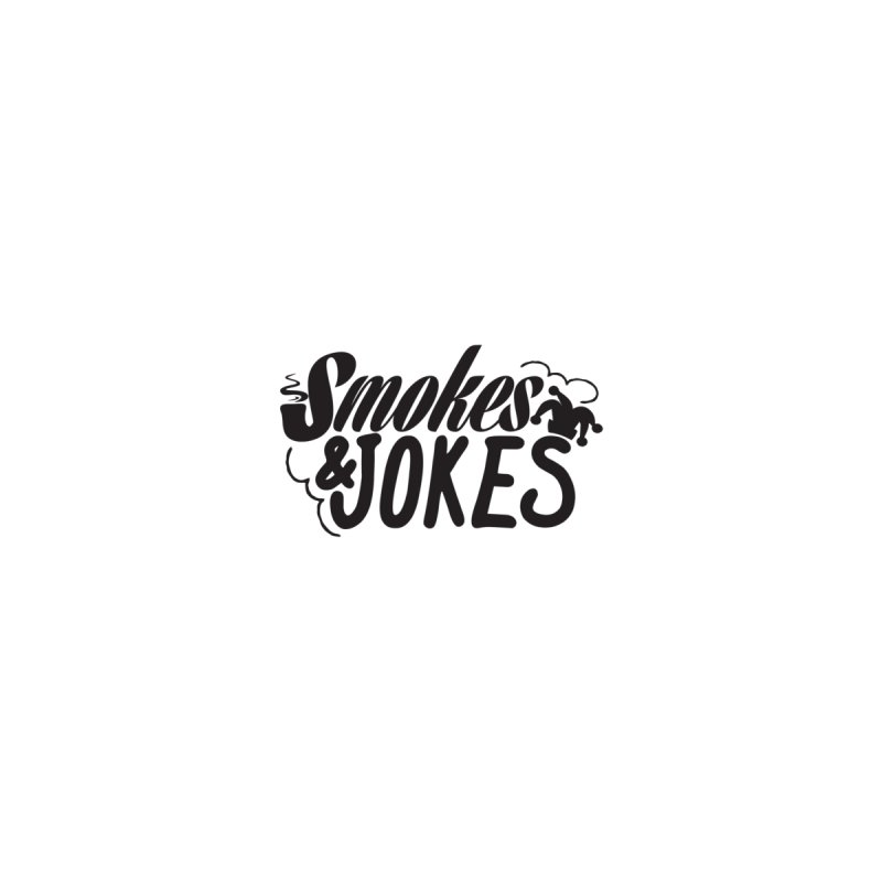 SmokesNJokes Men's V-Neck by HarlemRiverYachtClub's Artist Shop