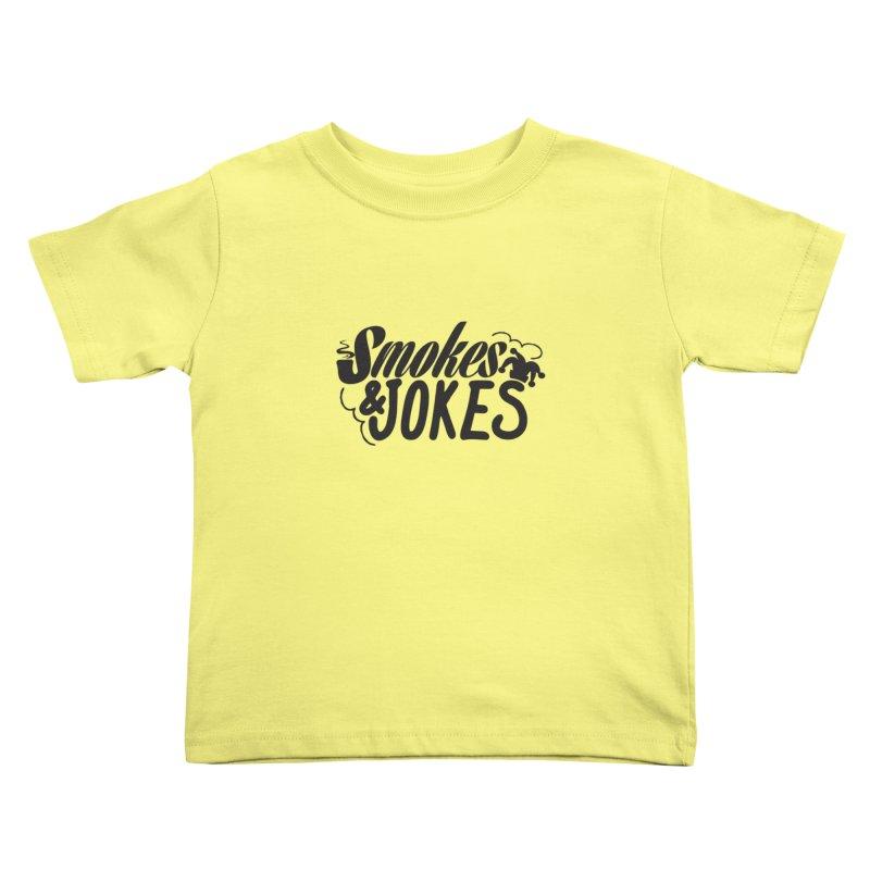 SmokesNJokes Kids Toddler T-Shirt by HarlemRiverYachtClub's Artist Shop
