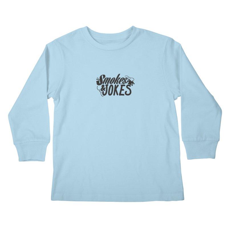 SmokesNJokes Kids Longsleeve T-Shirt by HarlemRiverYachtClub's Artist Shop
