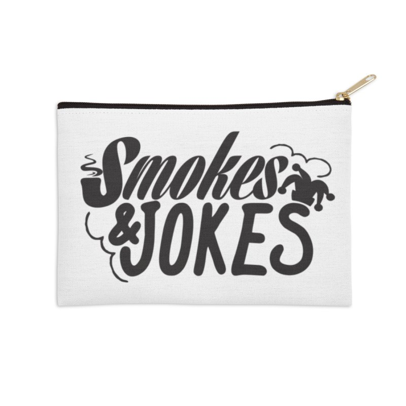 SmokesNJokes Accessories Zip Pouch by HarlemRiverYachtClub's Artist Shop