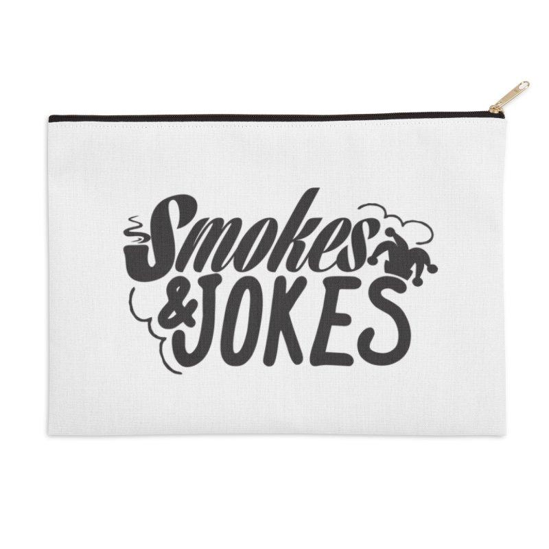SmokesNJokes Accessories Zip Pouch by HarlemRiverYachtClub's Artist Shop