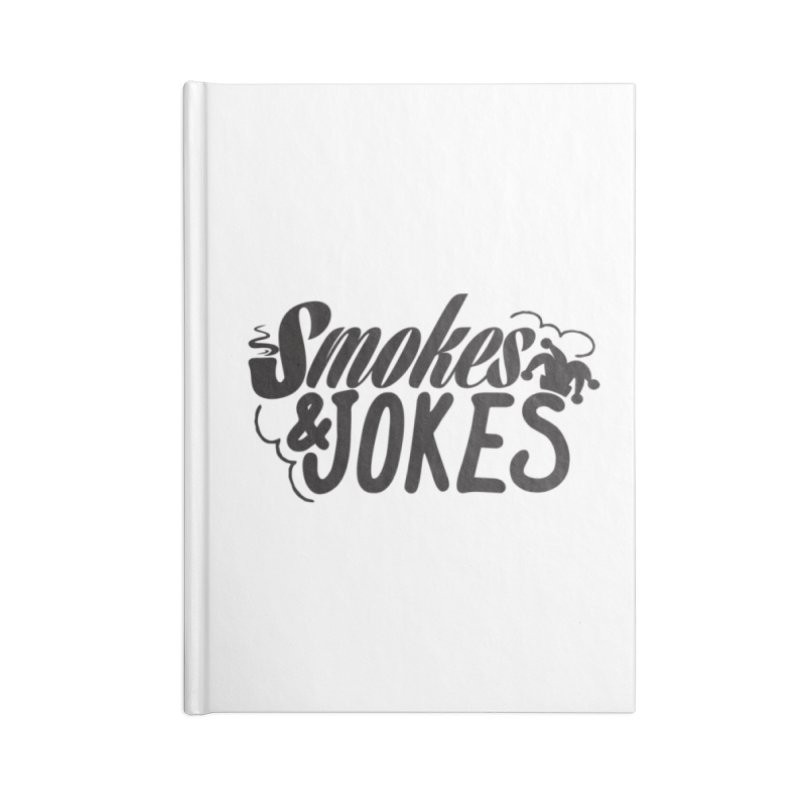SmokesNJokes Accessories Notebook by HarlemRiverYachtClub's Artist Shop