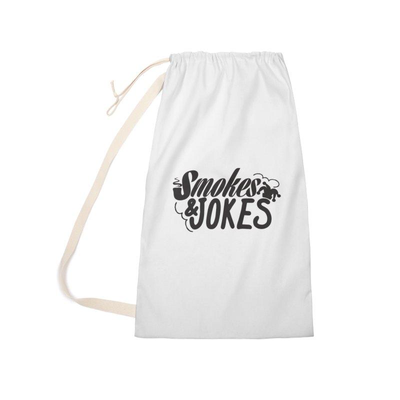 SmokesNJokes Accessories Bag by HarlemRiverYachtClub's Artist Shop