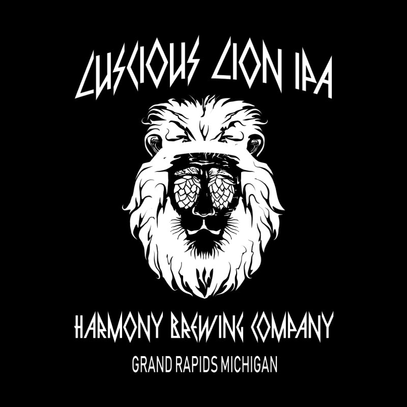 Luscious Lion Men's Zip-Up Hoody by Harmony Brewing Company