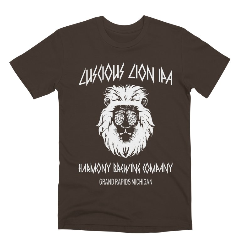 Luscious Lion Men's Premium T-Shirt by Harmony Brewing Company