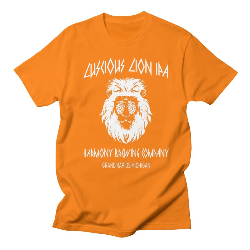 Luscious Lion Men's T-Shirt by Harmony Brewing Company