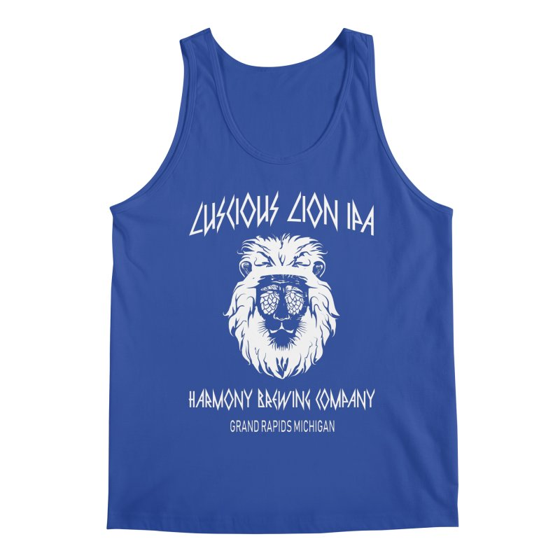 Luscious Lion Men's Tank by Harmony Brewing Company