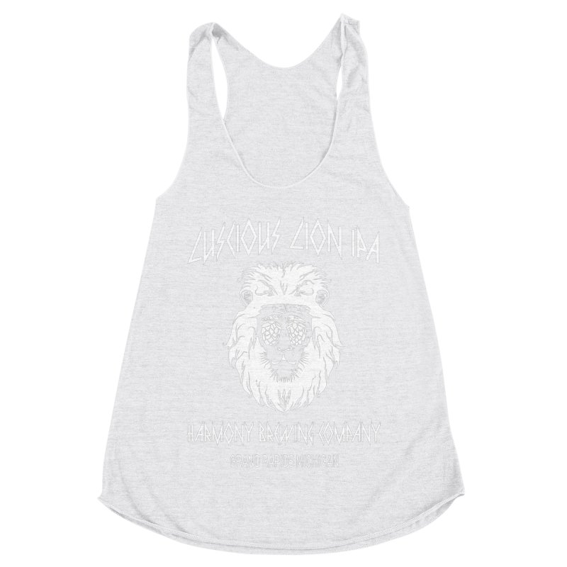 Luscious Lion Women's Racerback Triblend Tank by Harmony Brewing Company