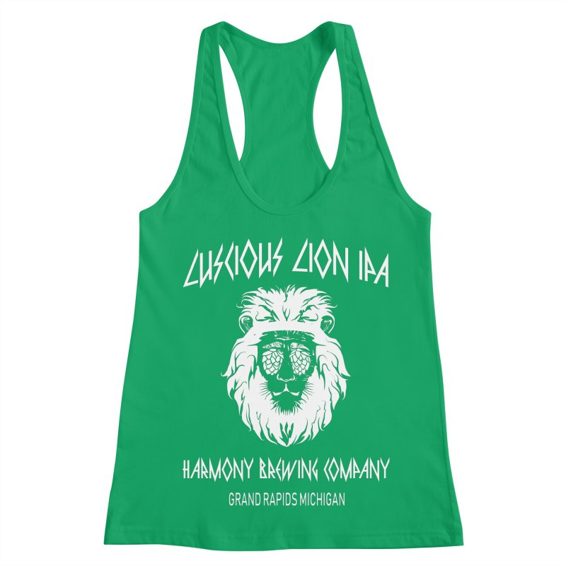 Luscious Lion Women's Tank by Harmony Brewing Company