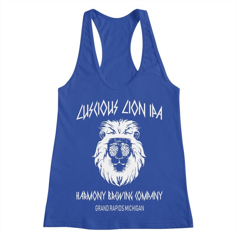 Luscious Lion Women's Racerback Tank by Harmony Brewing Company
