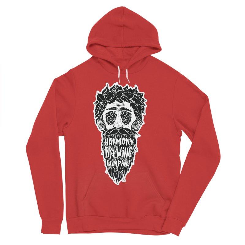 Hop Eyed Guy Men's Sponge Fleece Pullover Hoody by Harmony Brewing Company